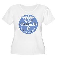 Caduceus Pharm.D Plus Size T-Shirt