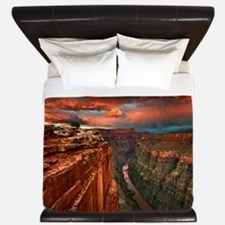 Grand Canyon Sunset King Duvet
