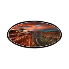 Grand Canyon Sunset Patches