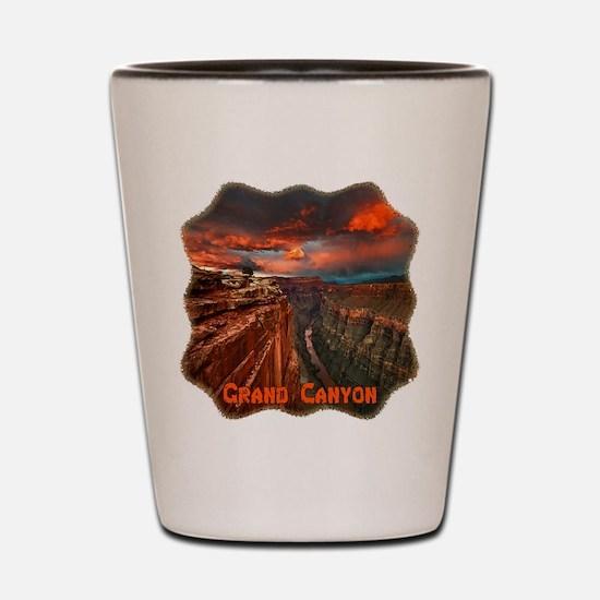 Grand Canyon Sunset Shot Glass