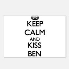 Keep Calm and Kiss Ben Postcards (Package of 8)