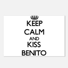 Keep Calm and Kiss Benito Postcards (Package of 8)
