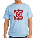 Love Poly Red Light T-Shirt