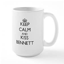 Keep Calm and Kiss Bennett Mugs