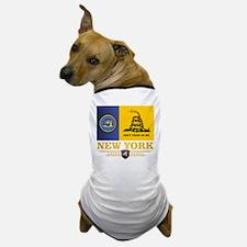 New York Gadsden Flag Dog T-Shirt