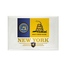 New York Gadsden Flag Magnets