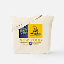 New York Gadsden Flag Tote Bag