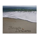 Beach Dreams by Beachwrite Throw Blanket