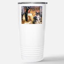 Grey Wolf.jpg Travel Mug