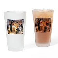Grey Wolf.jpg Drinking Glass