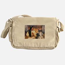 Grey Wolf.jpg Messenger Bag