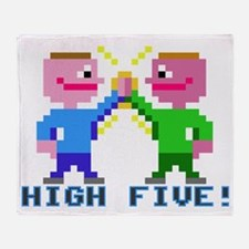 High Five! (v2) Throw Blanket