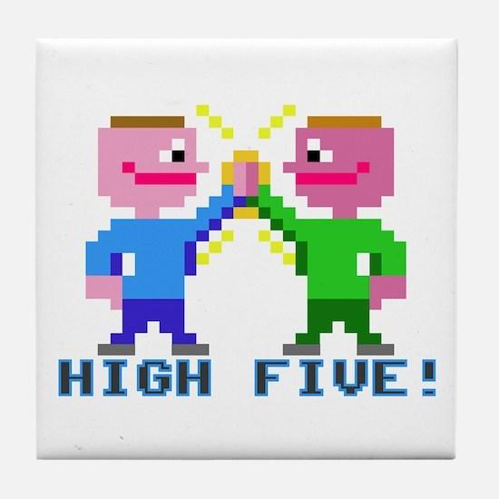 High Five! (v2) Tile Coaster