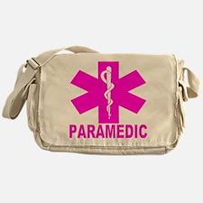 Hot Pink Paramedic Messenger Bag