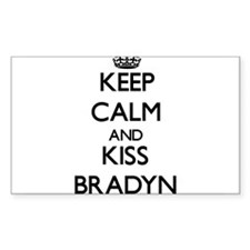 Keep Calm and Kiss Bradyn Decal