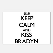 Keep Calm and Kiss Bradyn Postcards (Package of 8)