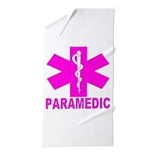 Hot Pink Paramedic Beach Towel
