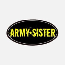 U.S. Army: Sister (Black & Gold) Patch