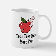 Red Apple Teacher Mugs
