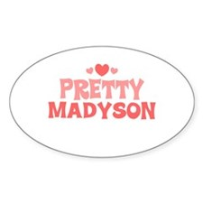 Madyson Oval Decal
