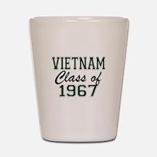 Vietnam Class of 1967 Shot Glass