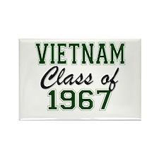 Vietnam Class of 1967 Magnets