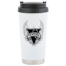 Ventura CA Dark Travel Mug
