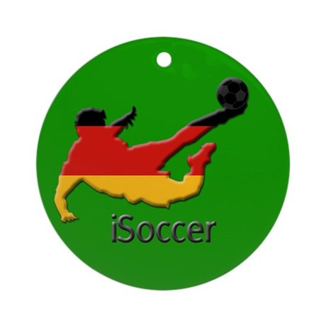iSoccer Germany Ornament (Round)