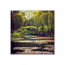 """Monet Garden Square Sticker 3"""" X 3"""""""