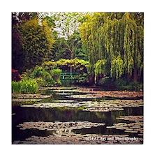 Monet's Garden Tile Coaster