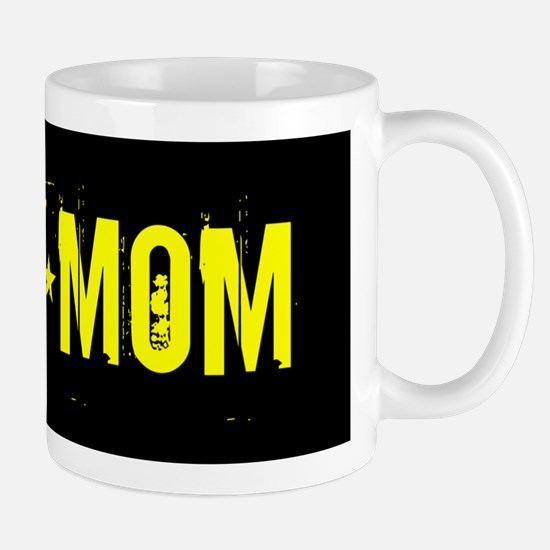 U.S. Army: Mom (Black & Gold) Mug