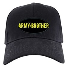 Army Brother: Black and Gold Baseball Hat