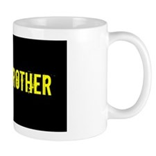 Army Brother: Black and Gold Mug