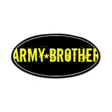 Army Brother: Black and Gold Patches