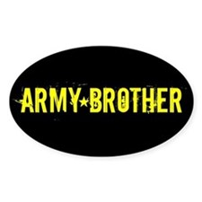 U.S. Army: Brother (Black & Gold) Decal