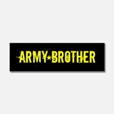 U.S. Army: Brother (Black & Gold Car Magnet 10 x 3
