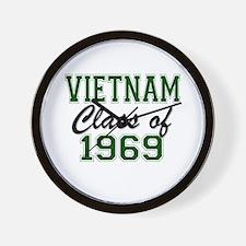 Vietnam Class of 1969 Wall Clock