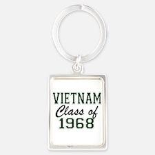 Vietnam Class Of 1968 Keychains