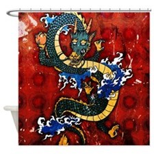 fullbleed38 Shower Curtain