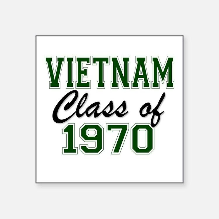 Vietnam Class of 1970 Sticker