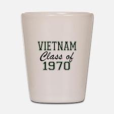 Vietnam Class of 1970 Shot Glass