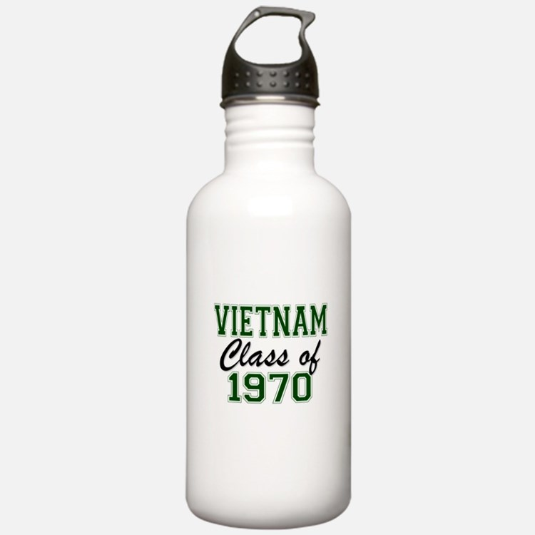 Vietnam Class of 1970 Water Bottle