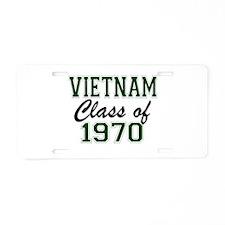 Vietnam Class of 1970 Aluminum License Plate