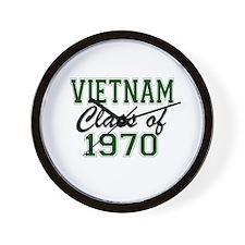 Vietnam Class of 1970 Wall Clock