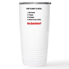 Annoy a Liberal Travel Mug