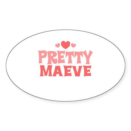 Maeve Oval Sticker