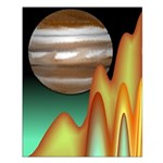 Jupiter And Io Small Poster
