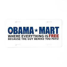 Unique Barack obama Aluminum License Plate