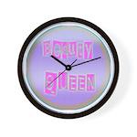 Beauty Queen Wall Clock
