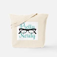 Pretty Nerdy Tote Bag